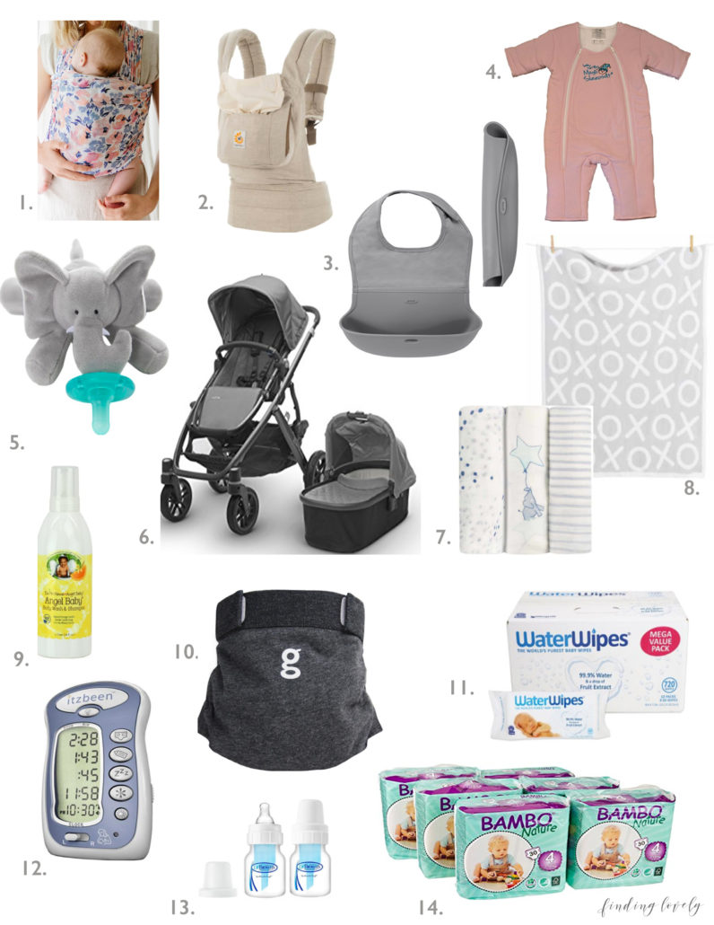 Must Have Baby Products - Finding Lovely