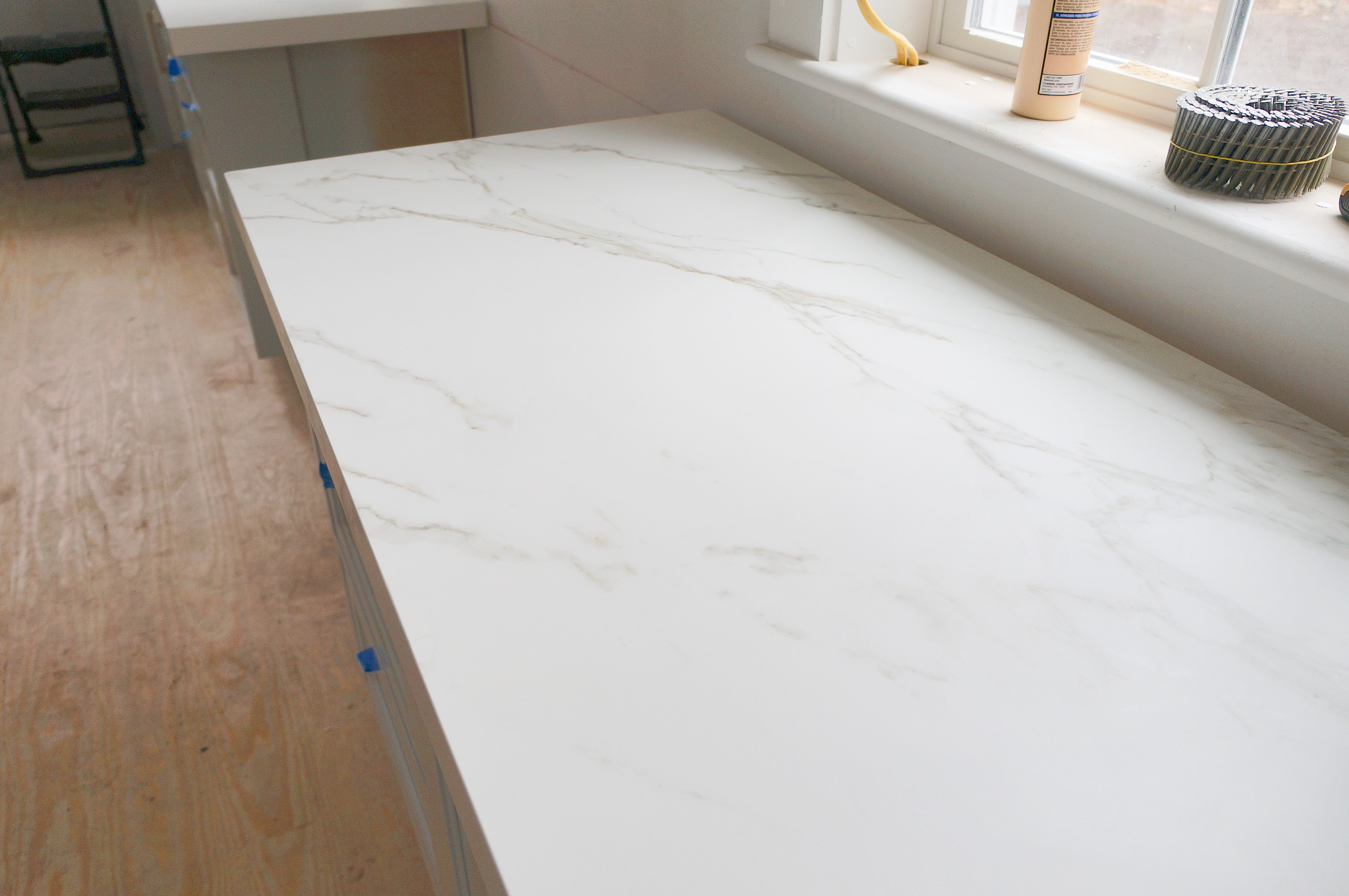 white ice granite countertops for a fantastic kitchen decor.htm our kitchen reveal finally  finding lovely  our kitchen reveal finally  finding