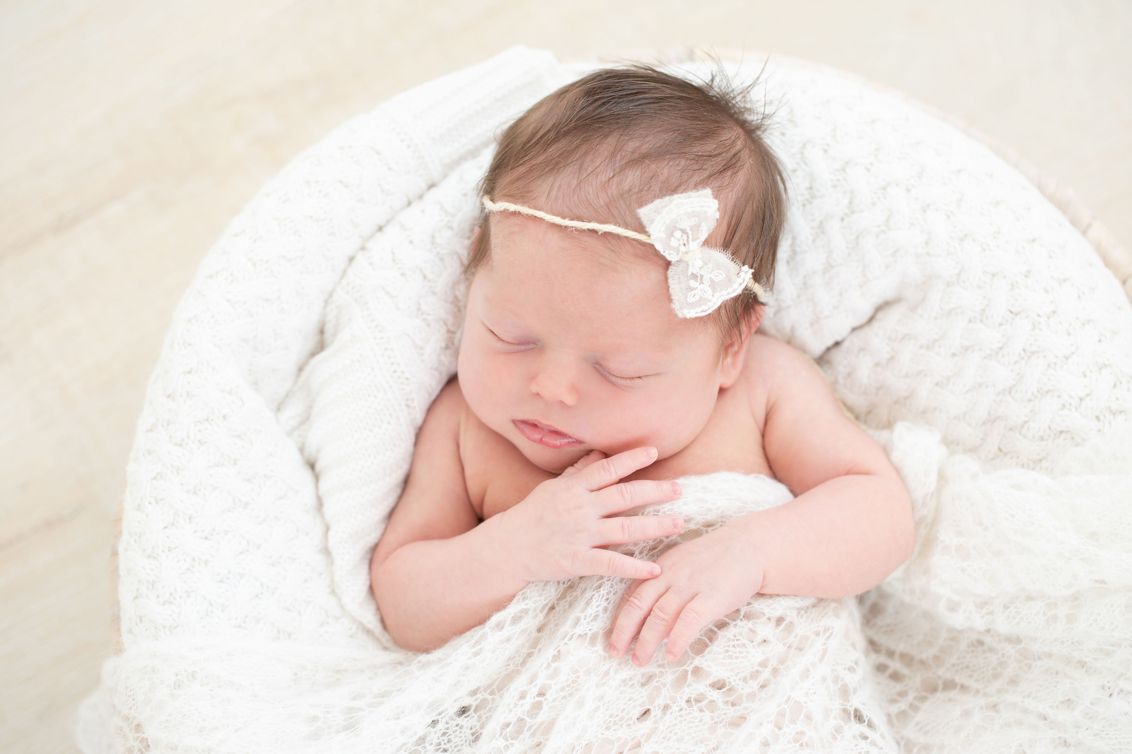 It's A GIRL! Baby Aubrey's Newborn Pictures & Birth Story