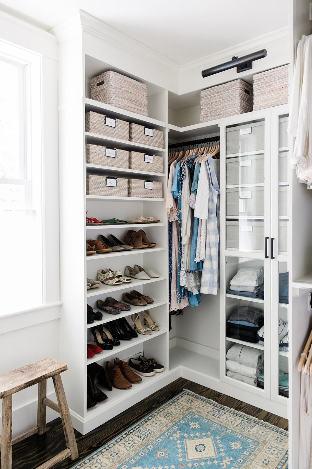 Master Closet Reveal Finding Lovely
